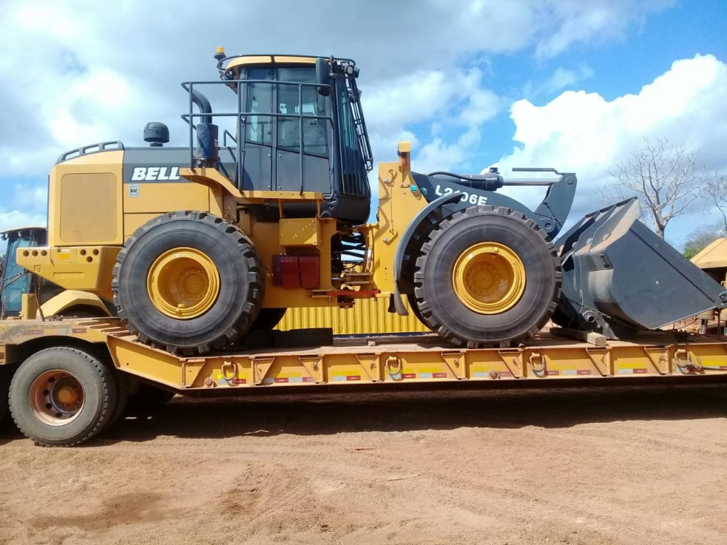 Megaruma Mining Limitada took delivery of a BELL L2106E FEL