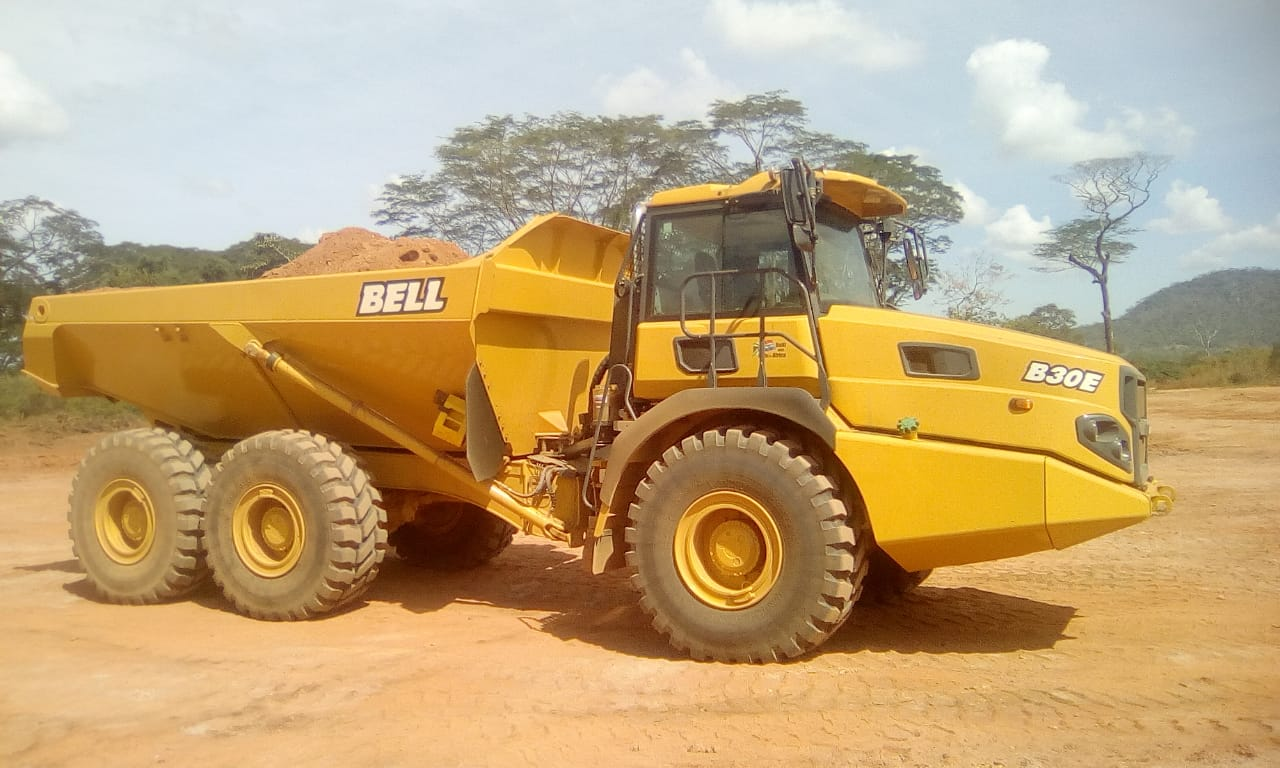 LonAgro Mozambique BELL Equipment Deliveries