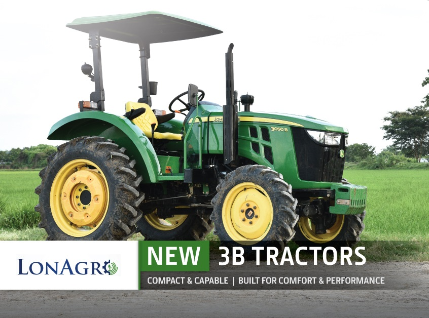 LonAgro John Deere 3B and 6B Tractor Promotion