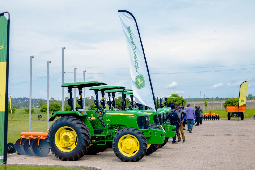 LonAgro Hands Over 9 Tractors to Tanzanian Agricultural Societies