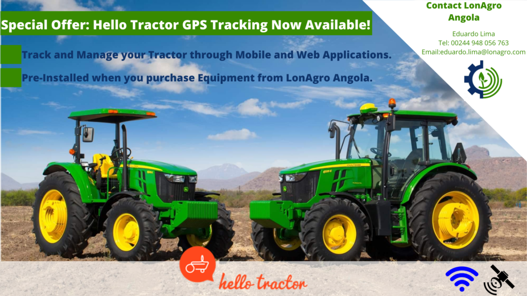 Hell Tractor LonAgro Angola Special Offer_GPS Tracking Now Available